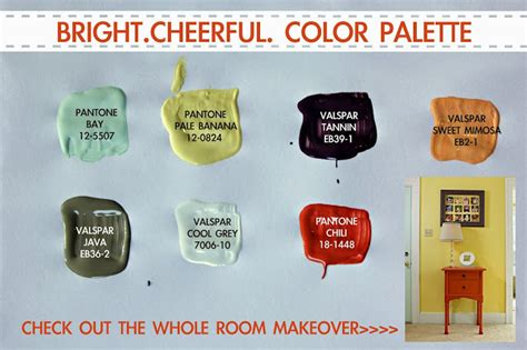 colorful stenciled accent wall knock it east coast creative
