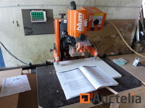 blum mini press pro hinge drill