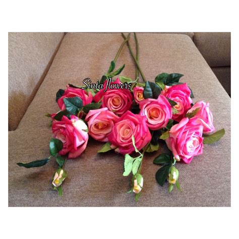 Bunga Artificial Shaby Chic Harga Perlosin jual bunga artificial bunga mawar impor wedding dekorasi shabby chic kios herbal sinta varia
