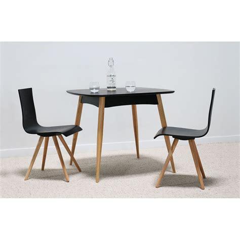 Table à Manger Scandinave by Torens Noir Table 224 Manger Carr 233 En Bois Naturel Design