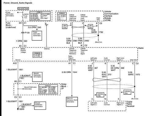2003 chevy bose factory radio wiring diagram autos weblog