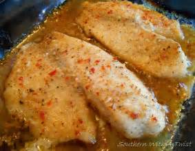 southern with a twist baked fish