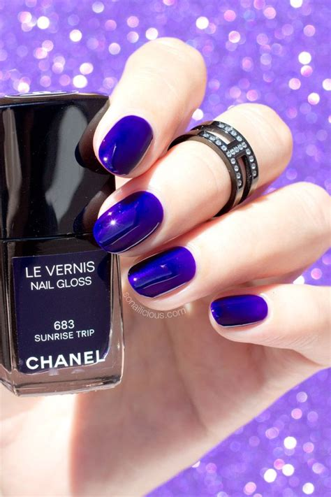 Chanel Jelly Chevron 022 B 17 best images about purple nails on nail