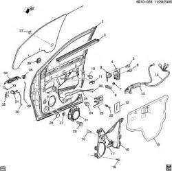 Buick Rendezvous Parts Buick Rendezvous Door Hardware Front Part 2