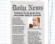 journalistic writing explained for parents newspaper