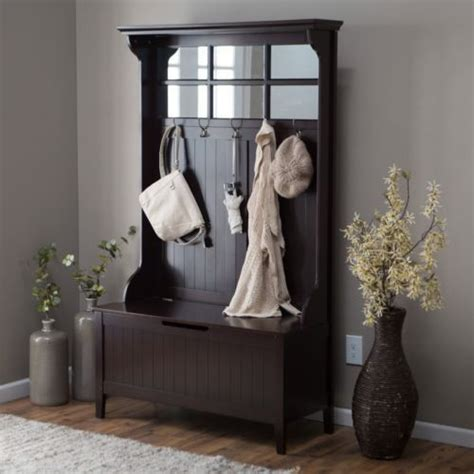 hall tree entry bench coat rack entryway hall tree coat rack with storage bench wood