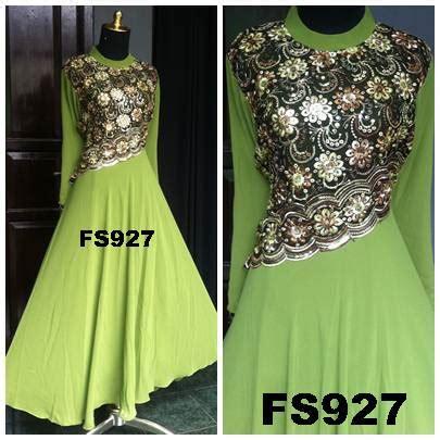 Dress Brokat Cardi Bros fika shop supplier baju muslimah murah dan modis fika shop