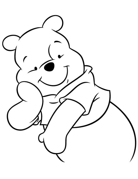 pooh bear coloring pages to print pooh bear color pages az coloring pages
