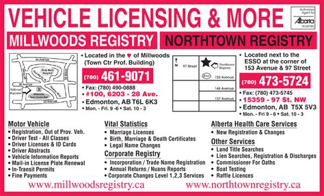 boat registration renewal near me millwoods registry services ltd edmonton ab 100 6203