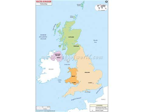 united kingdom political map buy uk political map