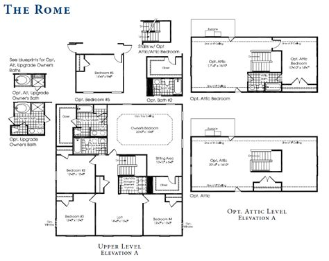 ryan homes rome floor plan the rome is our new home