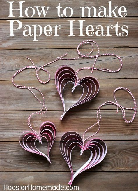 How To Make Craft Paper - s craft how to make paper hearts velikonoce a