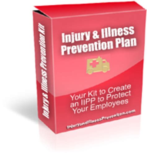 injury and illness prevention illness and injury