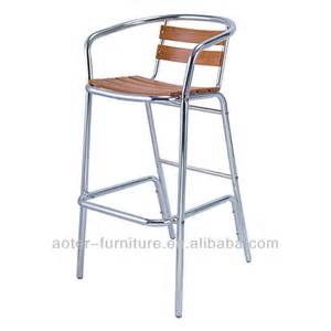 commercial wooden bar stools hotsale furniture commercial wood aluminum bar stool high chair buy wood aluminum bar chair