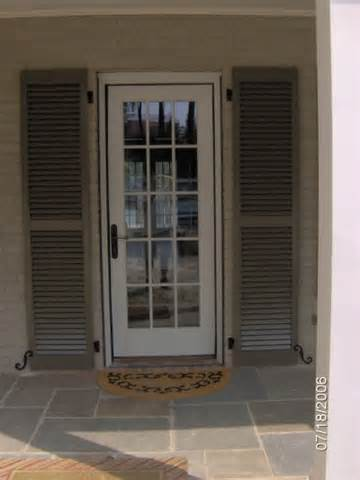 Door Shutters Exterior Exterior Shutters Carolina Blind Shutter Inc