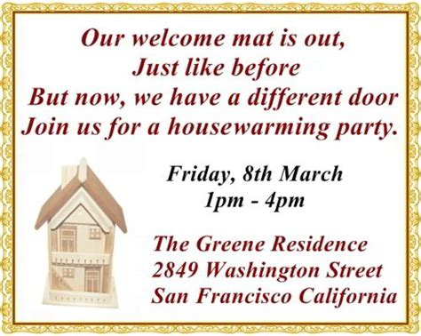 New Home Inauguration Invitation Card