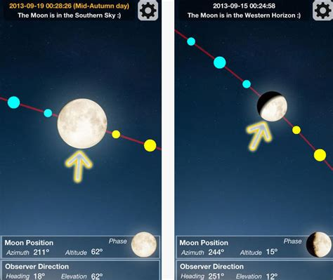 App That Finds Moon Finder For Ios Augmented Reality Moon App Iphone Apps Finder