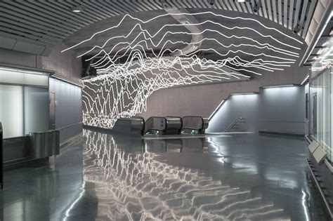 suspended led lighting installation projects the pulse of