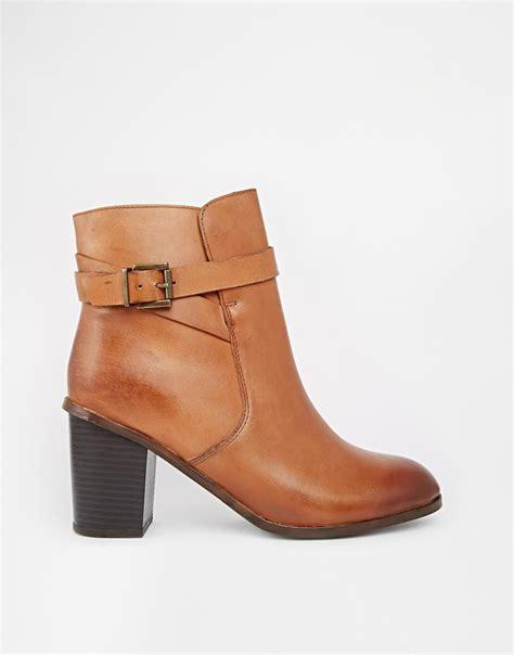 carvela boots for lyst carvela kurt geiger tamsin leather heeled ankle