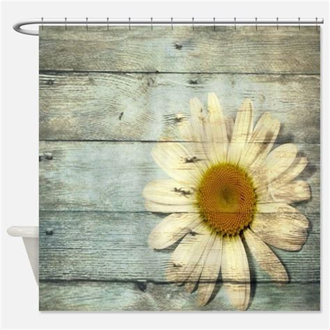 country chic shower curtains daisy shower curtains daisy fabric shower curtain liner