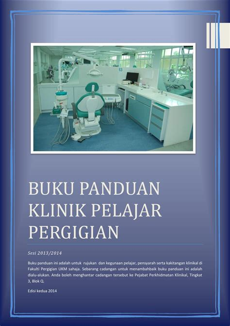 Penyigian Untuk Konstruksi Edisi 2 Buku Teknik buku panduan poliklinik fakulti pergigian 2013 14 by safura baharin issuu