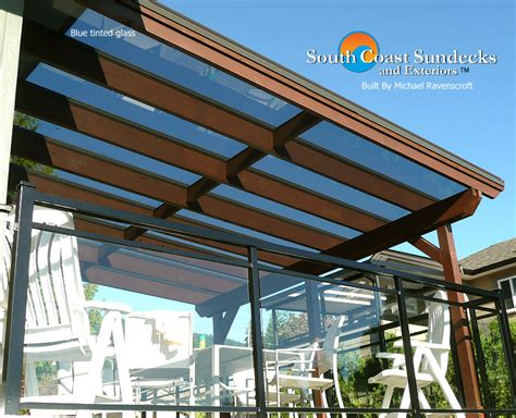 Glass Roof Canopies & Canopy