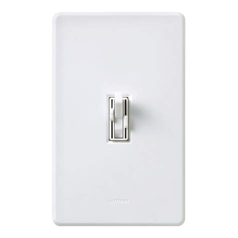Fan Light Combo Switch by Lutron Toggler 1 5 Single Pole 3 Speed Combination Fan And Light White Ay2 Lfsq Wh