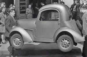 a pint sized 1946 french micro car demonstration the old