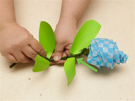How To Make A Tissue Paper Step By Step - 3 ways to make tissue paper roses wikihow