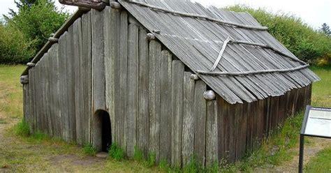 plank house 162 clatsop indian longhouse ft sp