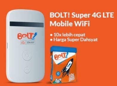 Bolt Wifi Hp review kecepatan bolt 4g lte paket wifi