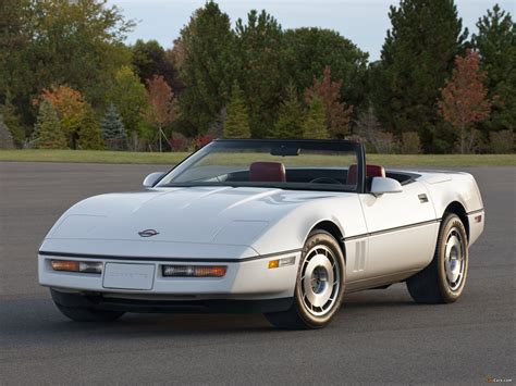 Corvette Convertible C4 1986 91 Wallpapers 2048x1536
