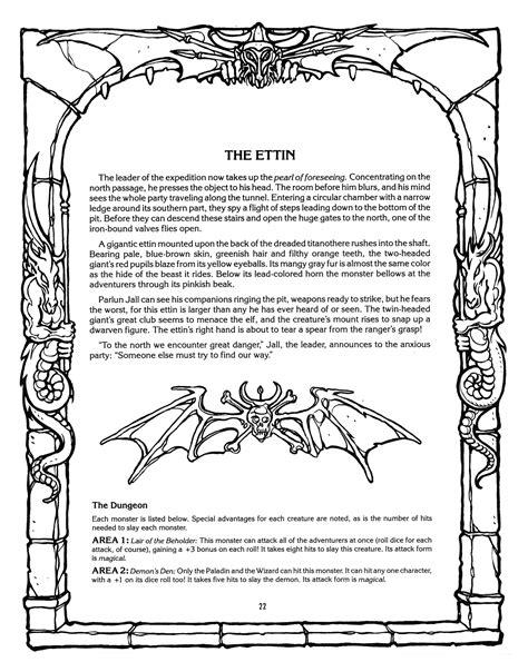 advanced coloring pages pdf monster brains the official advanced dungeons and dragons