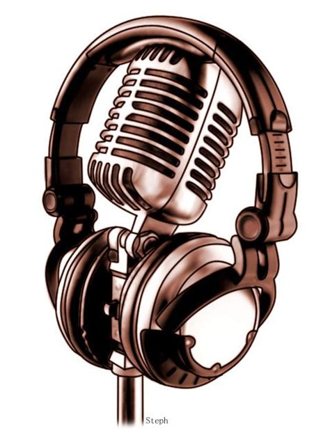 studio microphone tattoo designs microphone tattoo designs headphones and mic by zzyxz