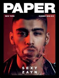How To Make A Paper Magazine - zayn malik 2016 cover photo shoot paper magazine 001