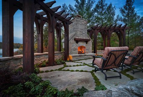 outdoor fireplace clarkston mi photo gallery