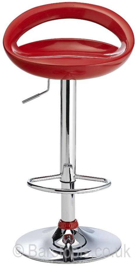 crescent bar stool