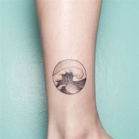 small water tattoos 17 best ideas about small wave on wave
