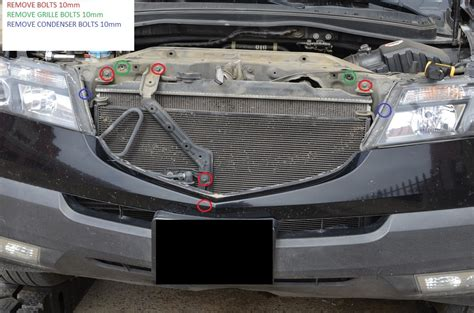 acura mdx transmission cooler diy install atf cooler 2g mdx acurazine acura