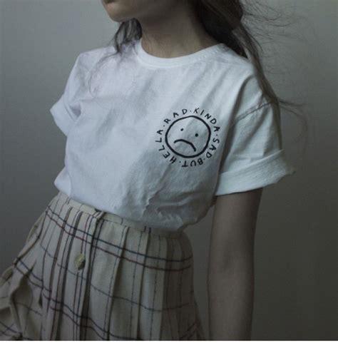 Jacket Brokat Huanzhu Soft Blue t shirt t shirt white cool pale aesthetic basic