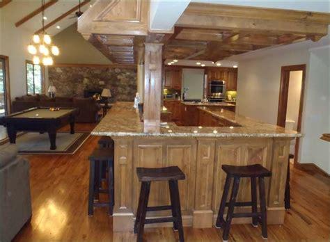 basement bar design ideas    incorporate pillars