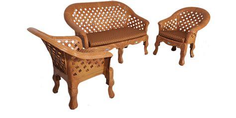 buy luxura sofa set by nilkamal patio sets