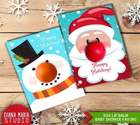 eos birthday card free template diy gift eos lip balm card templates note eos