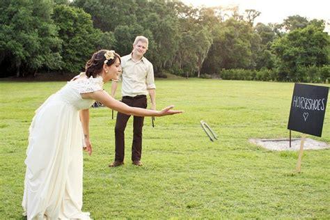 best yard games for your wedding bride