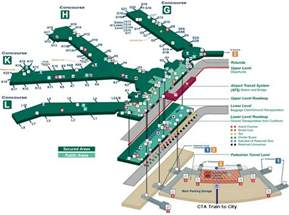 airport terminal map ohare airport terminal 3 map jpg