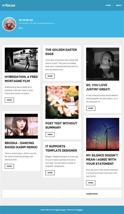 focus blogger template blogger templates 2018