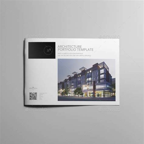 architecture portfolio template by keboto graphicriver