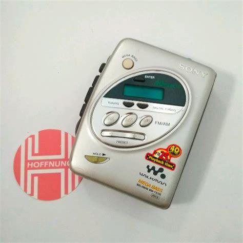 Walkman Sony Wm Fx267 Radio Cassette Player Baru Nos jual cassette player cek harga di pricearea