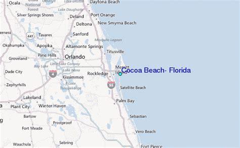 map of cocoa florida cocoa florida tide station location guide