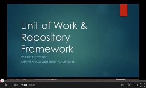 repository pattern nhibernate unit of work urf unit of work extensible generic repositories